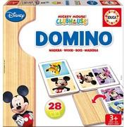Educa 16037 - Domino Legno Mickey Minnie