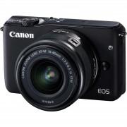 Canon EOS M10 15-45 KIT Black crni WIFI Mirrorless Digital Camera bezzrcalni digitalni fotoaparat + 15-45mm objektiv (0584C012AA) 0584C012AA