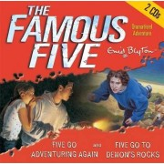 Five Go Adventuring Again & Five Go to Demon's Rocks by Enid Blyton
