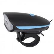 Carking ciclismo USB recargable bicicleta bocina electrica super faro