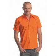 Lemon&Soda overhemd voor heren oranje