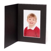 8x6 / 6x8 Black Moonlight Photo Folder - Portrait