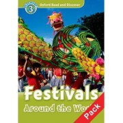 Oxford Read and Discover: Level 3: Festivals Around the World Audio CD Pack