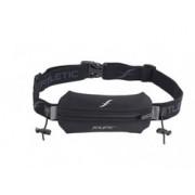 FITLETIC - Löparband med väska och nummerlappshållare Svart