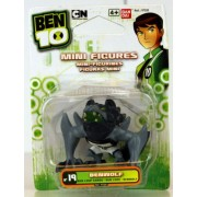 Ben 10 - 97339 - Figuras Mini - Series 3 - N° 19 - Benwolf / Ben Lobo - circ. 4 cm