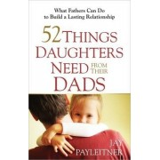 52 Things Daughters Need from Their Dads by Jay Payleitner