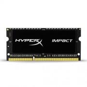 HyperX Impact 8GB 1600MHz DDR3L CL9 SODIMM 1.35V Laptop Memory - Black (HX316LS9IB/8)