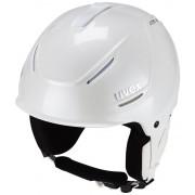 UVEX p1us pro WL Helmet Women clear white skyfall Ski- & Snowboardhelme