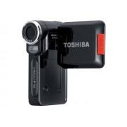 Toshiba CAMILEO P10 - Caméscope - Haute définition - 5.0 MP - flash 128 Mo - carte Flash - Brillant minuit