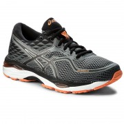 Обувки ASICS - Gel-Cumulus 19 T7B3N Carbon/Black/Hot Orange 9790