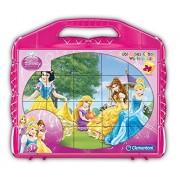 Clementoni 42424 - Princess, Valigetta con 24 Cubi