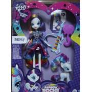 Poupée My Little Pony Equestria Girls : Rarity Avec Poney Rainbow Rocks