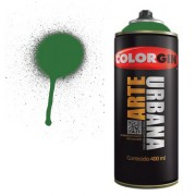Spray Colorgin Arte Urbana 400ml - Verde Bandeira