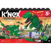 Dinosaurs roar and stomp with the motion-activated sound brick-Packed with 326 parts including KNex bricks plus rods a