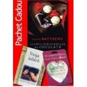 Pachet - Clubul iubitoarelor de ciocolata + Vraja iubirii + Magnet + Ciocolata