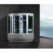 items-france TURIN - Hammam douche hydromassante 148x148x220