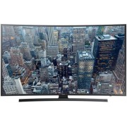 "Televizor LED Samsung 122 cm (48"") 48JU6500, Ultra HD (4K), Smart TV, Curbat, Tizen UI, Ultra Clear, Micro Dimming Pro, PQI 1100, Wireless, Wi-Fi Direct, CI+ + Lantisor placat cu aur si argint + Cartela SIM Orange PrePay, 6 euro credit, 4 GB internet 4G,"