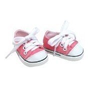 Sophia's 18 Inch Pink Doll Shoes Fit For American Girl Dolls, Pink Doll Sneakers