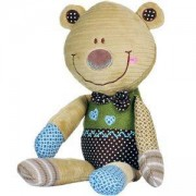Плюшена образователна играчка Мече - 1272 Babyono, 9070123