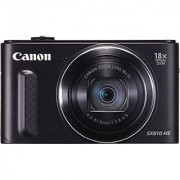 Canon Sx610 Hs 20.2Mp Point And Shoot Digital Camera (Black) With 18X Optical Zoom