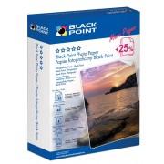 Fotópapír, Black Point, A6, fényes, 230g, 125 ív/csomag (PFA6G230B)