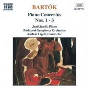 B Bartok - Piano Concerts Nos. 1-3 (0730099577120) (1 CD)