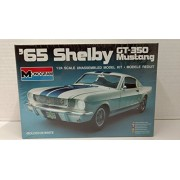 Monogram 2700 1965 Shelby GT-350 Mustang 1:24 Scale Plastic Model Kit - Requires Assembly