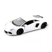 Maisto 1:24 Aventador Lamborghini LP700-4 White