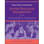 Human Resources Management in the Hospitality Industry: Study Guide by David K. Hayes