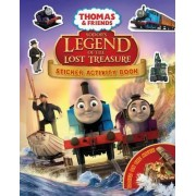 Thomas & Friends: Sodor's Legend of the Lost Treasure Movie Sticker Book by No Author