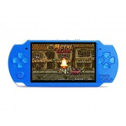 X6 4.3 Inch Handheld Game Console Real 8Gb Memory With Tv Output Camera/Music/E-Book Built-In 400 Free Games (Blue)