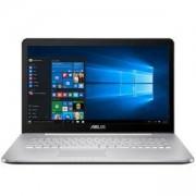 Лаптоп Asus N752VX-GC105D, Intel Core i7-6700HQ (up to 3.5GHz, 6MB), 17.3 инча, 90NB0AY1-M01470