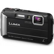 "Aparat Foto Digital Panasonic DMC-FT30EP-K, 16.1 MP, 1/2.3"" CCD, Filmare HD, Zoom Optic 4x (Negru)"