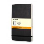 Moleskine Ruled Reporter Notebook Large, Noir