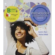 Psychology in Everyday Life with 6 Month Access Code by David G Myers