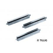 Set 25 conectori sina H0 / TT, Tillig 09616 / 86102