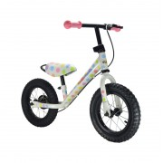 Kiddimoto Super Junior Max Laufrad Pastel Dotty 2017 Kinder- & Jugendfahrräder