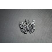 Ezüst medál pillangó