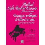 Practical Sight Reading Exercises for Piano Students/Exercices Pratiques de Lecture a Vue Pour Les Jeunes Pianistes by Boris Berlin