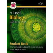 New A-Level Biology for AQA: Year 1 & 2 Student Book with Online Edition by CGP Books