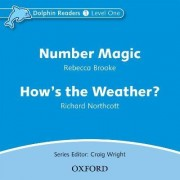 Dolphin Readers: Level 1: Number Magic & How's the Weather? Audio CD by Rebecca Brooke