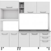 Cozinha Compacta Adapt 8 Henn Branca
