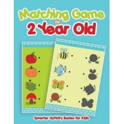 Matching Game for 2 Year Old by Smarter Activity Books For Kids