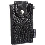 Poodlebags entertainbag Croco 5EN0812CROCB, Custodia per cellulari e smartphone donna, 7x13x2 cm (L x A x P)