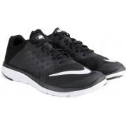 Nike FS LITE RUN Running Shoes(Black, White)
