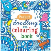 Pocket Doodling and Colouring Book by Non Figg