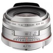 Pentax SMC HD DA 15mm f/4 ED AL Limited (argint)