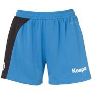 Kempa Damen-Short PEAK - kempablau/schwarz   L