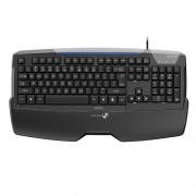 Tastatura Multimedia Seico Premium, USB, Negru