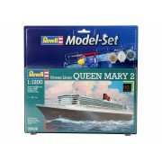 Revell Model Set Ocean Liner Queen Mary 2 hajó makett revell 65808